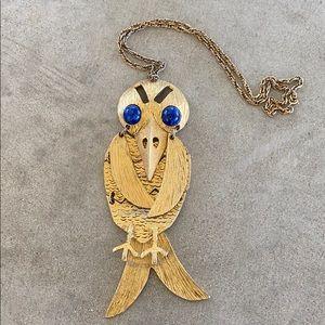 Vintage Bird Necklace